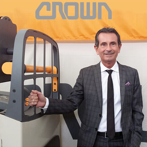 Roberto De Gasperin General Manager di Crown Lift Trucks S.r.l.