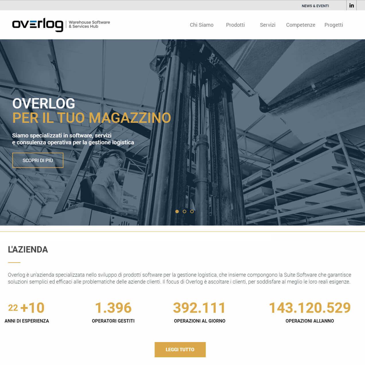 Nuovo sito Overlog