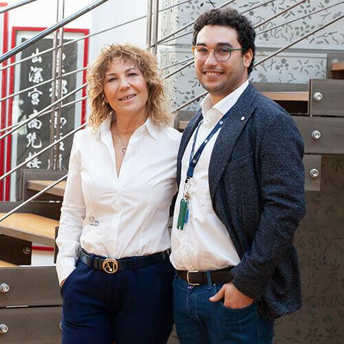 Stefania e Giorgio Triva, presidente e strategic project manager del Gruppo COPAN