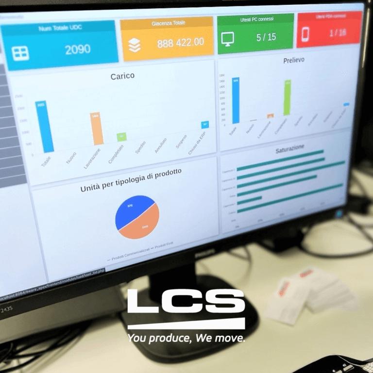 LCS - WMS: efficienza e ordine in magazzino, ma non solo