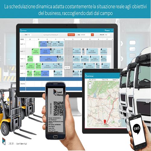 Load Manager è una soluzione innovativa nel mondo della logistica